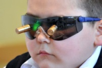 Очки Панкова - сеанс физиотерапии