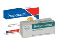 Химические средства от паразитов Празиквантел и Бильтрицид