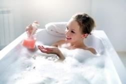 Мытье в ванне