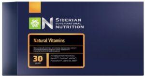 Super natural vitamins - абсолютно натуральные витамины