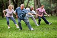 спорт и физкультура против старения