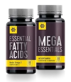 Набор 4 Wellness - все витамины и омега 3 в биодоступной форме