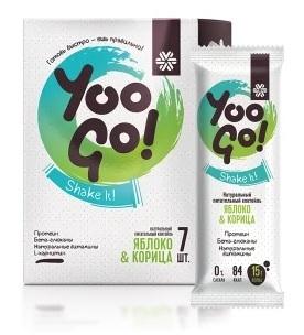 белковое питание Yoo Go яблоко и корица