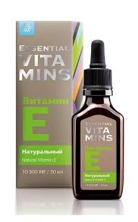 Натуральный витамин Е